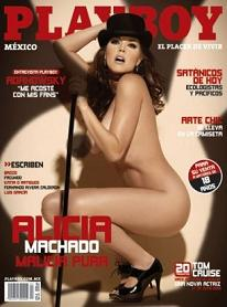 Alicia Machado July 2010 Playbox Mexico