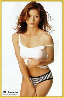 Jill Hennessy sexy canadian actress