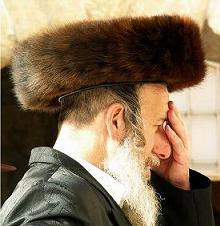 Jew Wearing a shtreimel