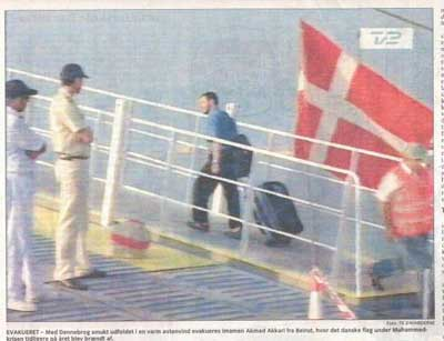 Akkari Fleeing Lebanon
