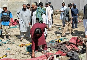 At least 20 killed in Afghan mosque blast