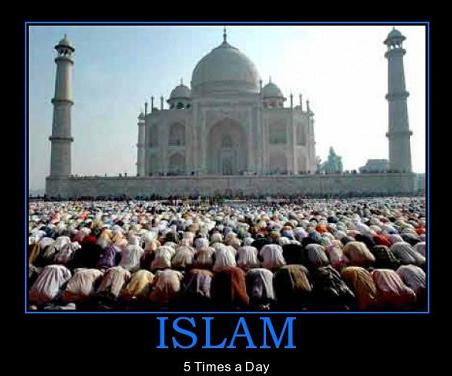 islam 5 times a day