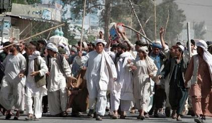 riots in Afghanistan over Quran burning