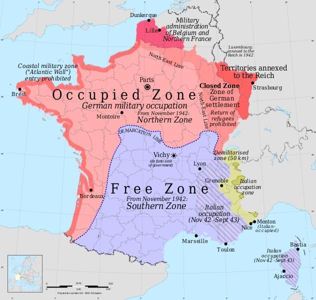 Synopsis under 3 verdenskrig i frankrig