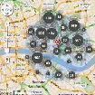crime map Aldgate, City of London