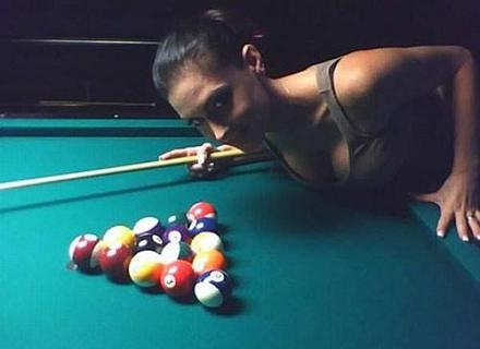 nice rack - pool