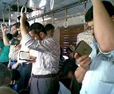 reading the Qur'an everywhere