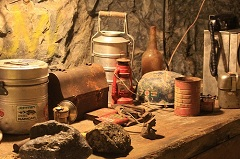 Old Gold mining tools of the trade