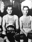 The 1921-22 Philadelphia SPHAs. Note the Hebrew lettering on the jerseys.