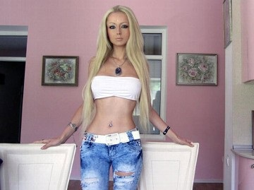 Real Life Barbie Doll Valeria Lukyanova