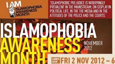 November :Islamophobia Awareness Month