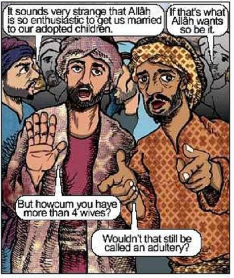 indonesian anti-Islam comic strip
