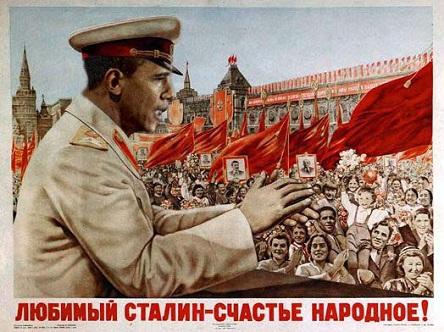 Obama as Communist