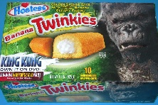 king kong banana twinkies