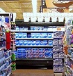 water bottles in a Kroger supermarket