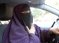 driving with a niqab