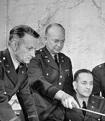 Brig. Gen. Dwight D. Eisenhower (2L) meeting with War Plans division. Credit: Thomas D. McAvoy