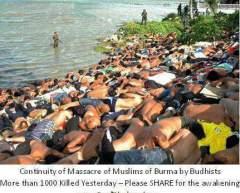 burma uslims dying