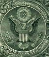 Great Seal of US on back of one dollar bill