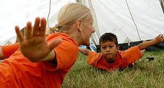 teaching yoga