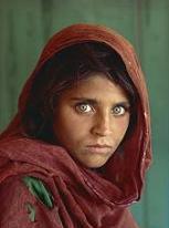Afghan Muslim girl Sharbat Gula