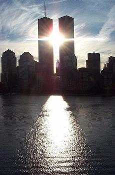 sunrise the world trade center towers