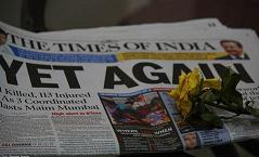Three blasts rocked Mumbai's crowded Zaveri Bazar, Opera House and Dadar Kabootarkhana areas on Wednesday 12th July 2011