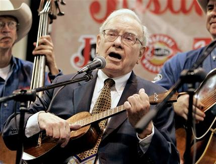 warren buffett plays yukelele