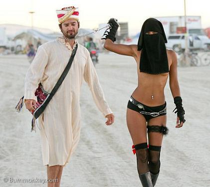 naked abaya