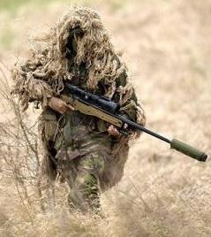 Sniper with L115A3