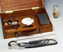 Salvarsan treatment kit for syphilis, Germany, 1909-1912