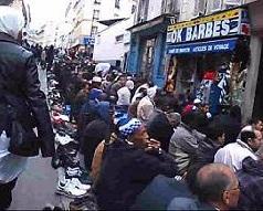 Muslim enclave in Paris