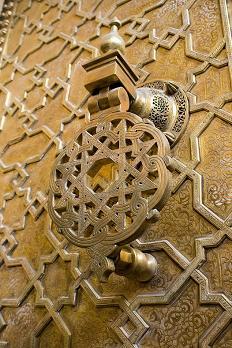 'Big Muslim door knocker