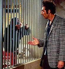 Kramer apologizes to chimpanzee