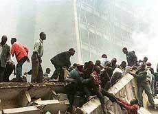 Bombing of the Nairobi, Kenya, US embassy