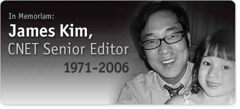 cnet memoriam to James Kim