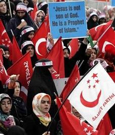 pro-Islamic Felicity Party - (AP Photo/Murad Sezer)