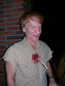 bill maher Halloween as steve irwin