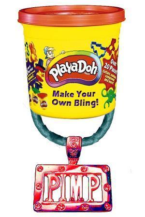 playdoh bling factory