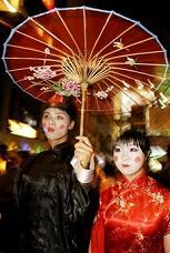 (AP Photo/Kin Cheung)  Hong Kong Halloween