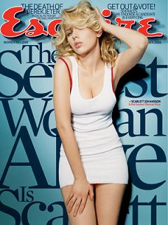The Sexiest Woman Alive 2006 - Esquire