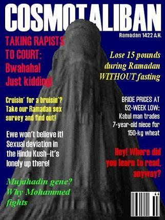 Taliban Cosmopolitan Magazine