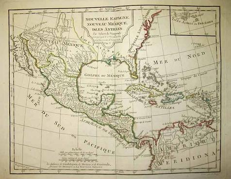 new map of mexico