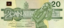 Dirty, sexy Canadian money