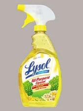 lysol lemon