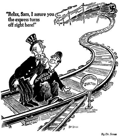 Dr Seuss anti-appeasement cartoons