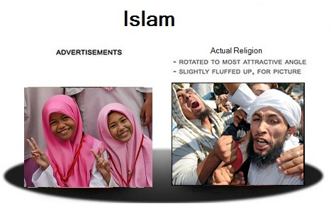 fake images of Islam