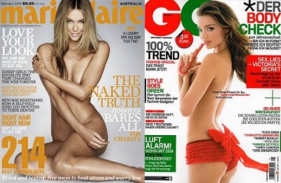 nudity in magazines