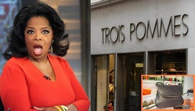 Oprah Winfrey goes on a fake rant about discrimination