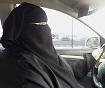 Muslim woman driver